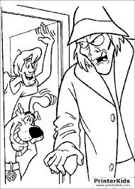 scooby doo coloring pages scooby doo printable coloring pages