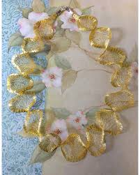 wide mesh ribbon deal alert titanium mesh necklace titanium mesh ribbon wire