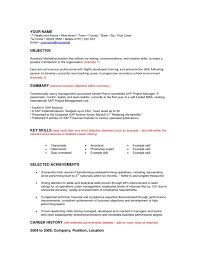 My Objective In Resume Objective In Resume For Mba Free Doc Graduate Student Resume