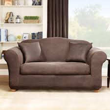 slipcovers for leather sofas awesome leather sofa protector sure fit stretch leather 2 sofa