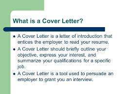 cover letters the fundamentals what is a cover letter a cover