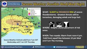 New Orleans Weather Map by Severe Weather In Louisiana Track Storms On Radar And Updated