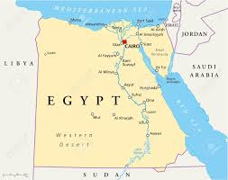 Map Of Libya Map Of Egypt Royalty Free Cliparts Vectors And Stock