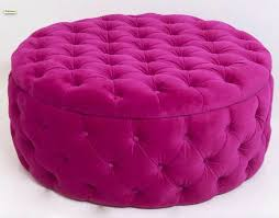 Tufted Round Ottoman Coffee Table by Best 20 Round Ottoman Ideas On Pinterest Teal Sofa Large Round
