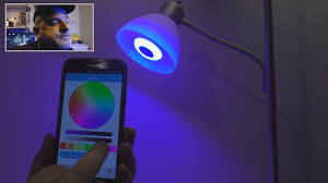 led light bulb speaker bluetooth smart led speaker light bulb review youtube
