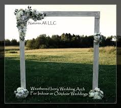 wedding arbor wedding arch wedding arbor rustic wedding arch complete kit