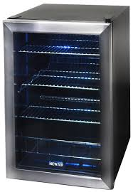 glass front beverage cooler