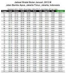 Jadwal Sholat Jogja Jadwal Sholat Abadi Untuk Seluruh Wilayah Indonesia Free