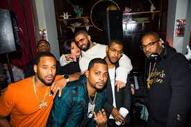 rapper drake house amas 2016 drake u0027s star studded after party details people com