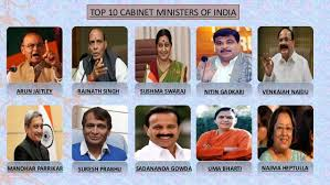 10 Cabinet Ministers Of India Working Of Institutions From 9 L