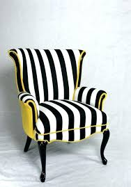Black And White Striped Accent Chair Black And White Striped Dining Chair Chairs Extraordinary Striped