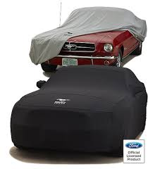 mustangs cars pictures mustang 50th anniversary custom car cover by covercraft