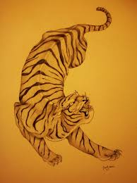 japanese tiger design ink awesomeness achieved