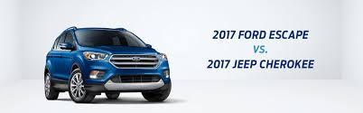 small jeep small suv comparison tool compare 2017 ford escape vs 2017 jeep
