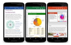 word app for android microsoft word excel powerpoint free android apps now available