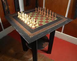 chess table slate chess table heartworks slate
