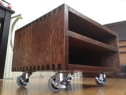 Under Desk Printer Stand With Wheels Diy Printer Stand Home Office Ideas Pinterest Printer Stand
