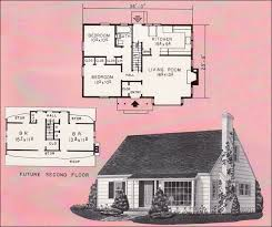 cape style house plans weyerhauser house plan small 1961 cape cod style home design