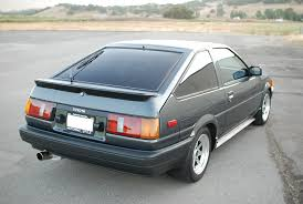 for sale 1986 toyota corolla ae86 levin hatch supercharged 4agze