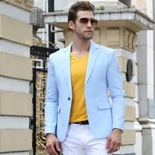 high class suits free sipping 2017 newest casual high class obscure blue vertical