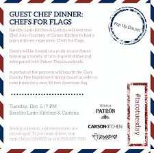 Latin American Flags Bandito Hosts Fundraiser Dinner For The Clark County Fire Dept
