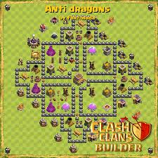 coc layout builder th8 clash of clans builder base design strategies and base plans