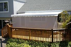 Retractable Awning With Screen Awning For Deck