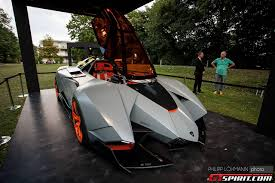 Lamborghini Egoista At The Schloss Bernsberg Classics Event