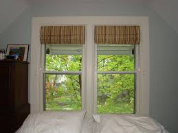 Roman Shades Valance Before And After Bedroom Roman Shade A Little Design Help