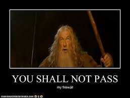 You Shall Not Pass Meme - summer blog you shall not pass
