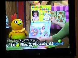 rj u0027s 3rd birthday card being aired on sprouts sunny side up show