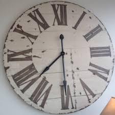 large wall clock large kitchen wall clocks foter