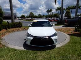 latest toyota cars 2016 2016 used toyota camry 4dr sedan i4 automatic se at royal palm