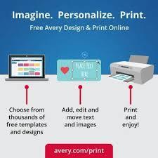 avery easy peel print to the edge glossy round label true print