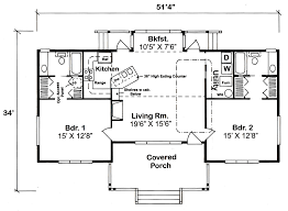 cottage bungalow house plans house plan 32323 at familyhomeplans com