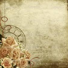 furniture home retro vintage romantic background with roses and