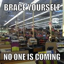 Funny Black Friday Memes - working black friday at kroger meme guy