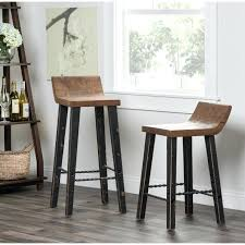 24 inch high bar stools bar stools 24 inches high garden in h gun metal backless counter