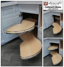 ultracraft frameless kitchen cabinets corner storage trays