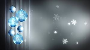 light blue gray ornaments 4k motion background loop
