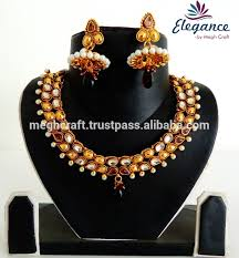 south jewellery designers gold kundan one gram jewelry set wholesale set suppliers alibaba