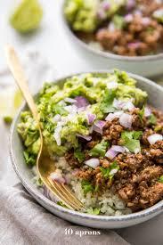 cuisine paleo whole30 chipotle beef avocado bowls paleo sofritas copycat