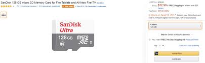 best micro sd card black friday deals deal amazon selling sandisk 128 gb microsd card for 32 99 35