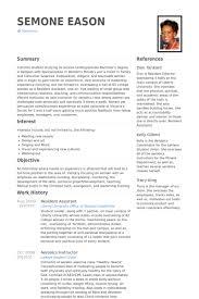 resident assistant resume samples visualcv resume samples database
