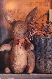 Primitive Easter Decorations To Make by 263 Best Primitive U0026 Vintage Bunnies Images On Pinterest