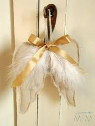 diy wings ornaments ma maison crafts