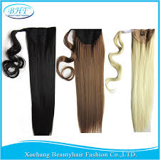 ponytail extension unprocessed human hair ponytail extension 100g bhf