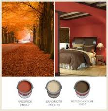 behr paint in raging bull red creates a spicy backdrop to your
