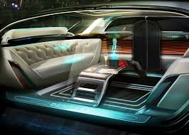 futuristic cars interior luxury autonomous cars could offer faster routes through cities says