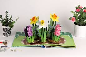 how this flower bouquet pop up book was designed chronicle books